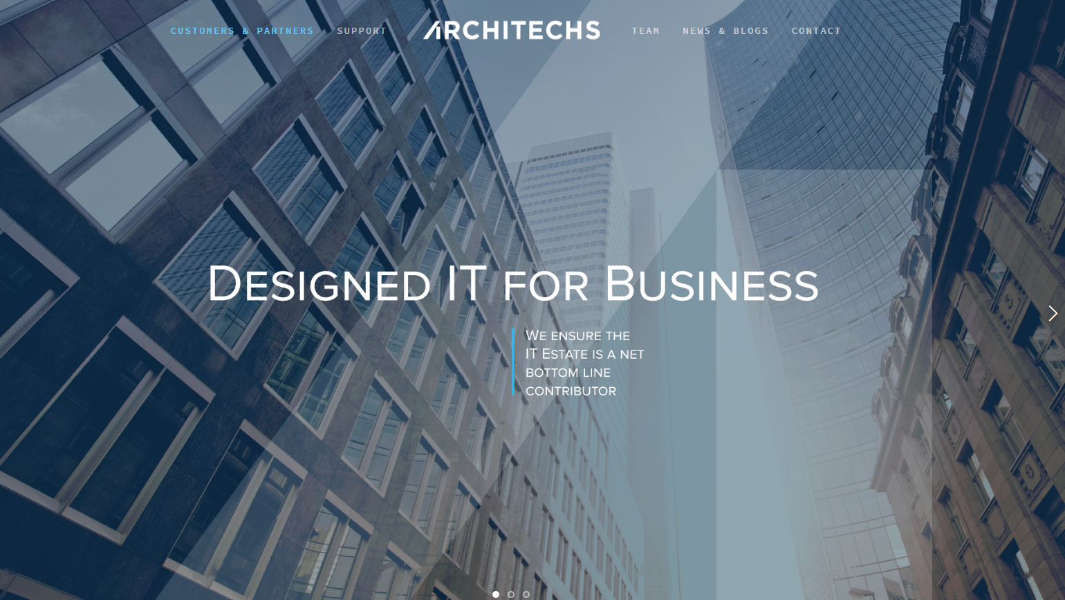 """Smart is the new sexy"": CTO-as-a-Service and managed private cloud from Architechs"