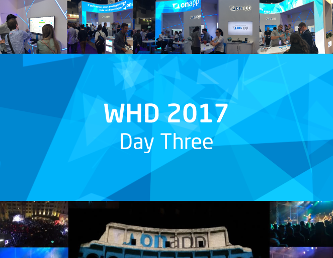 WHD – final day… see you again soon!