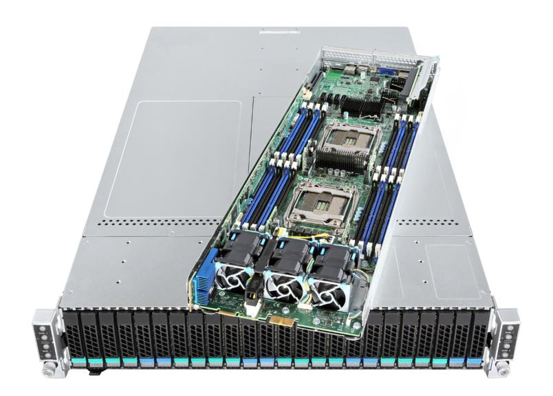 Intel Server Chassis H2224XXKR2