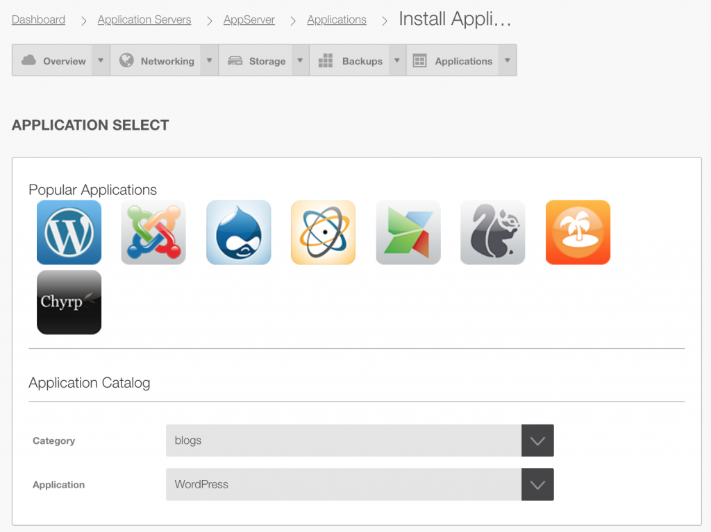 Would you like apps with that? Add value to your cloud with OnApp Application Servers