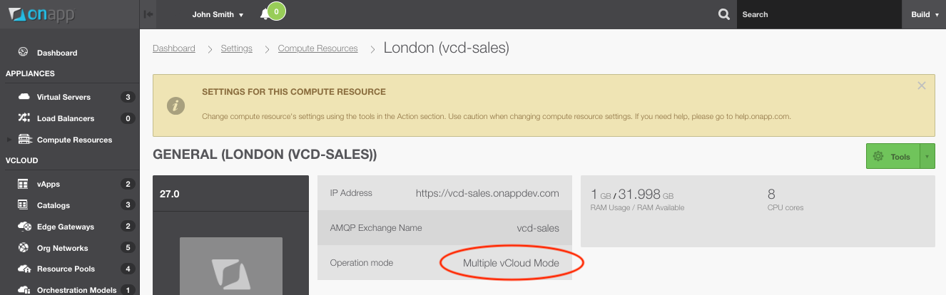 Manage multiple vCloud Directors in one UI? It's easy with OnApp.