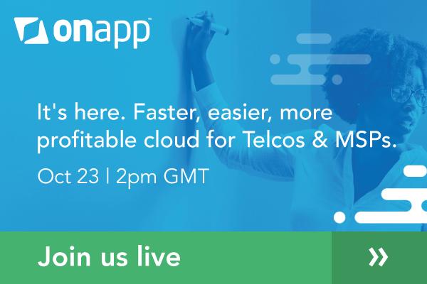 Webinar: OnApp v6.0 – faster, easier, more profitable cloud for Telcos & MSPs