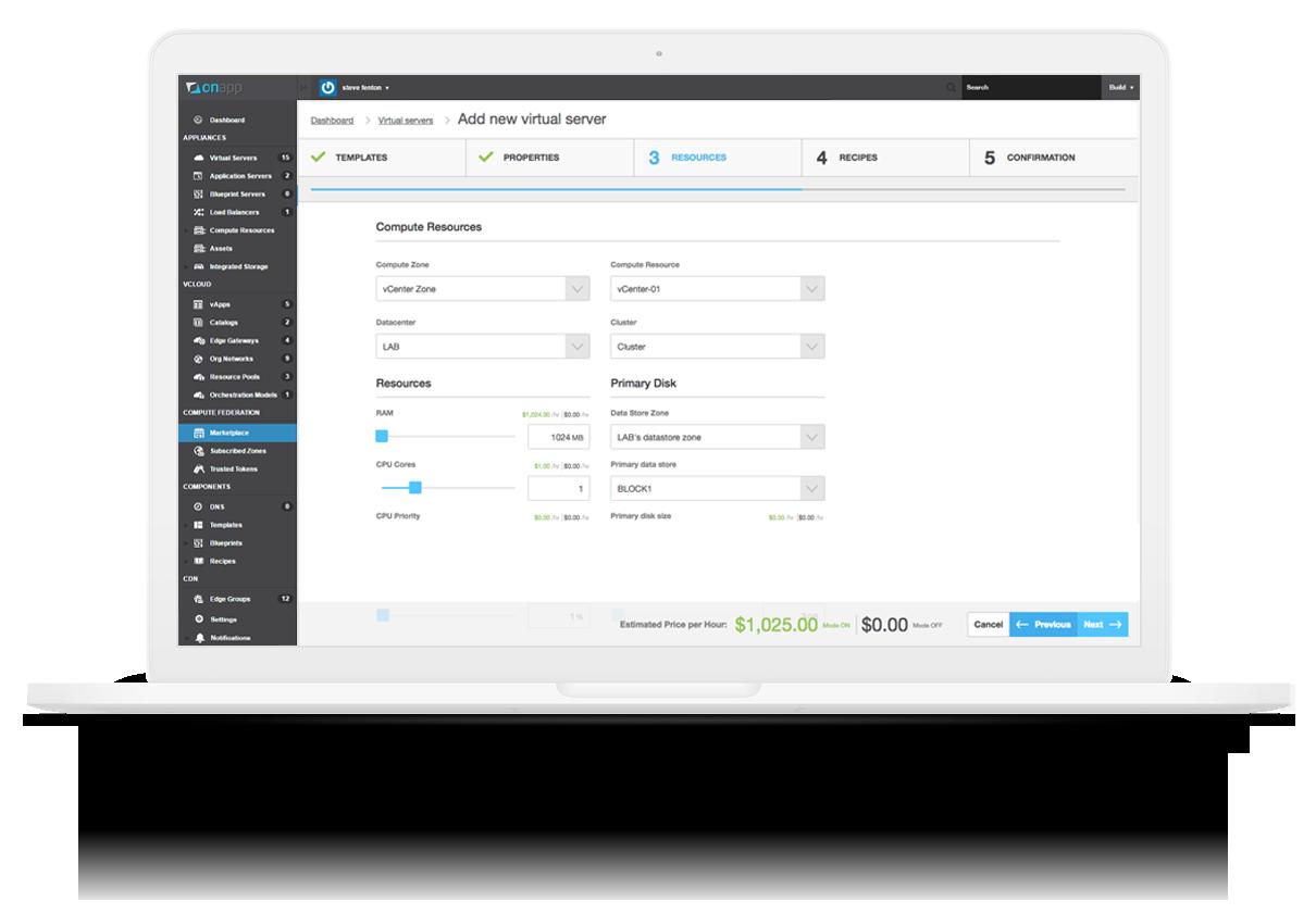 OnApp makes it easy to monetize VMware vCenter.