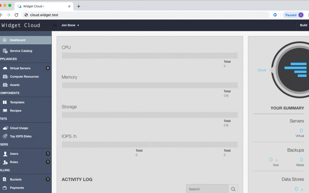 How to configure multi-tenancy branding or sub-brands in OnApp clouds